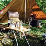 レビュー|スノーピークのペンタシールドはソロキャンプに最高だった。