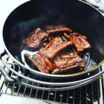 ユニフレームのダッジオーブンとスペアリブの作り方 |soloniwa風マーマレード煮