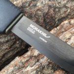 モーラナイフ・ブッシュクラフト・ブラックのレビュー Mora knife Bushcraft Black