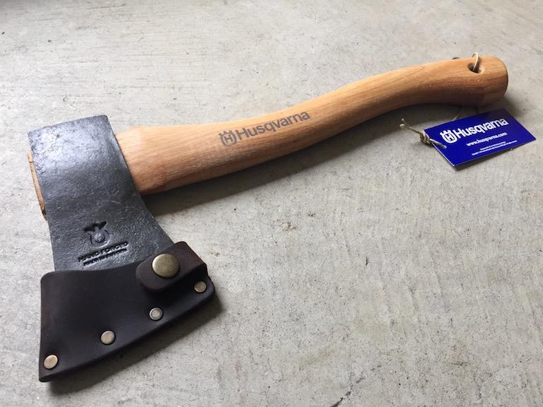 ハスクバーナの手斧(新品)