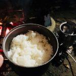 チタンで炊飯を成功させる方法「ソロセットチタン」を使用