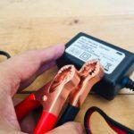 車のバッテリーの充電方法|小型の充電器が便利すぎる。
