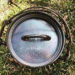 ユニフレームの「ダッチオーブン6インチスーパーディープ」(限定生産)のレビュー