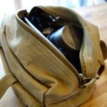 【ソロキャンプの収納】ロスコのツールバッグがおすすめです。