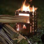 【レビュー】ブッシュボックス XL (チタン製)の焚き火が楽しすぎる!【Bushcraft Essentials】