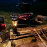 『地べたスタイル』で冬のソロキャンプ|「ピコグリル398」で料理を楽しむ。