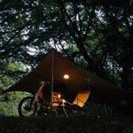 ソロキャンプ におすすめ!|SnowPeakライトタープペンタシールド(STP-381)の紹介