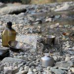 【春のソロキャンプ】 焚き火と渓流朝ごはんを楽しむ