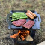 ソロキャンプにおすすめの鉄板!|「イワタニ ジュニアバーナー 対応 グリルプレート」のレビュー