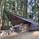 【ソロキャンプのやり方①】DDタープの快適なリビングで楽しむ、おでんソロキャンプ